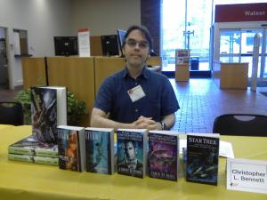Me at Cinti Library Comic Con