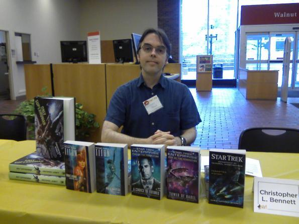 Me at Cinti Library Comic Con