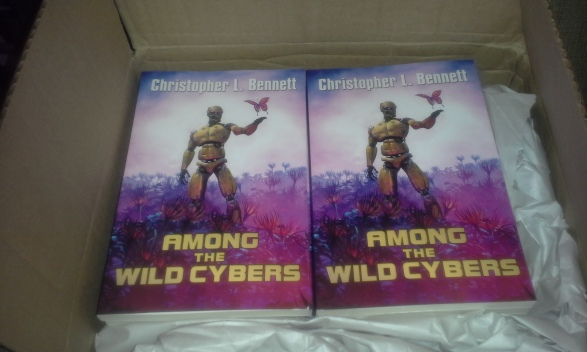 Among the Wild Cybers in box